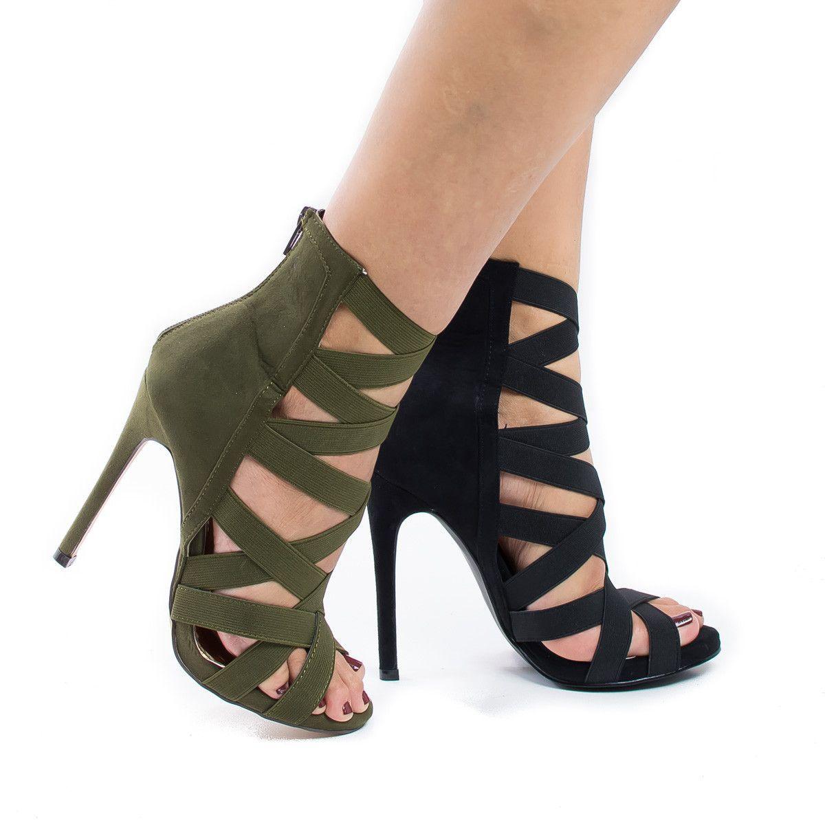 Chaussure à talons glamour 35
