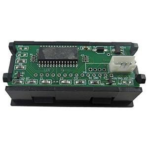 Image 2 - LED dijital zamanlayıcı toplayıcı saat kronometre endüstriyel metre Panel dijital saat 6 bit 12V F/gerilim akım ölçümü