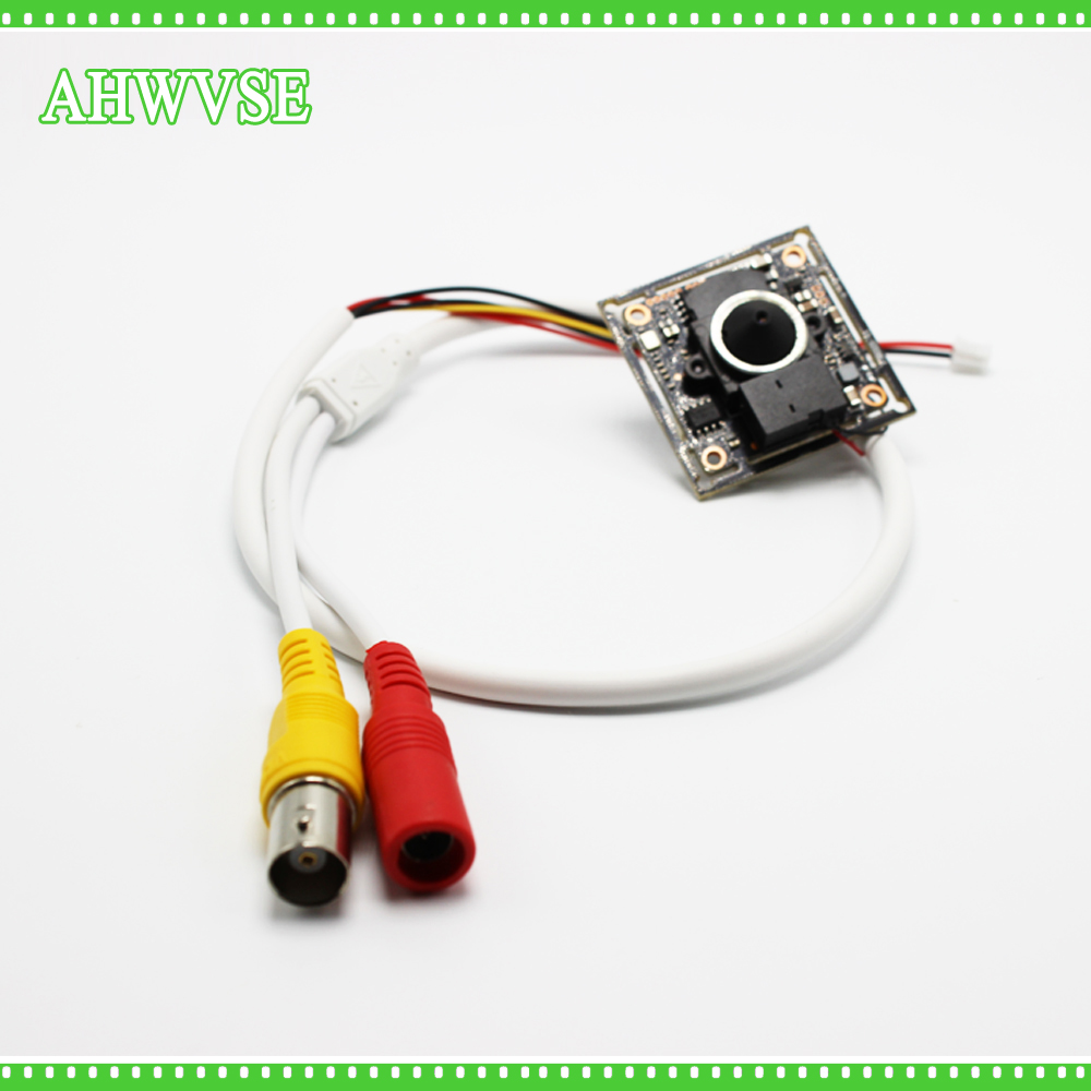 AHWVSE Mini Camera Module Board Home Security Camera 1080P AHD Camera module with Wide Angle 3.7 mm lens