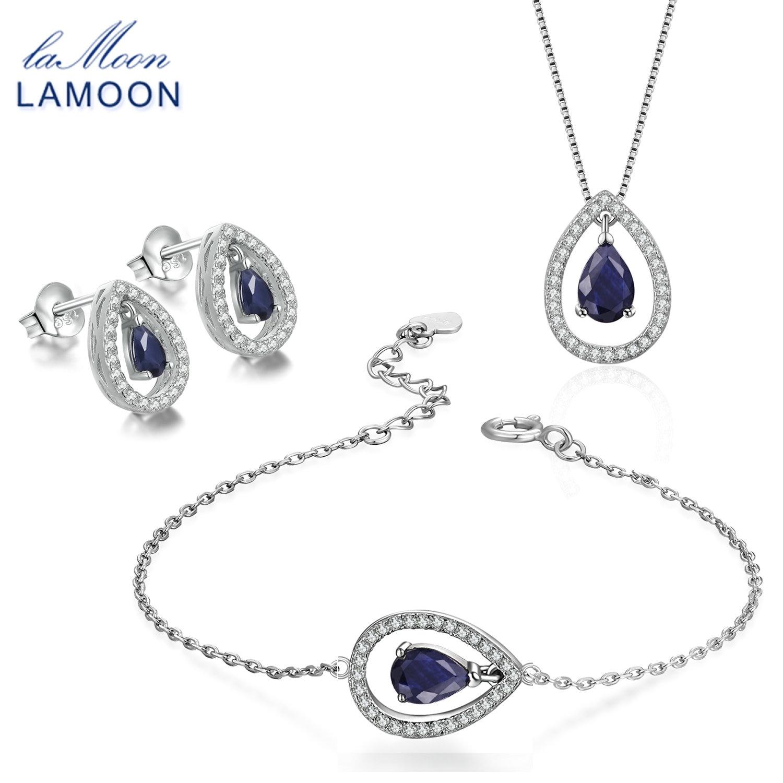 Lamoon Water Drop Earring Necklace