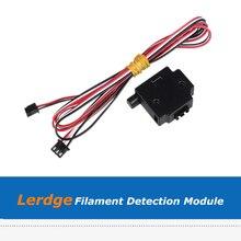 1pc Lerdge 3D Printer Mainboard Filament Detection Monitor Sensor Module For 1.75mm 3mm Filament 0 5kg spool 1 75mm 3mm water soluble pva filament for 3d printer