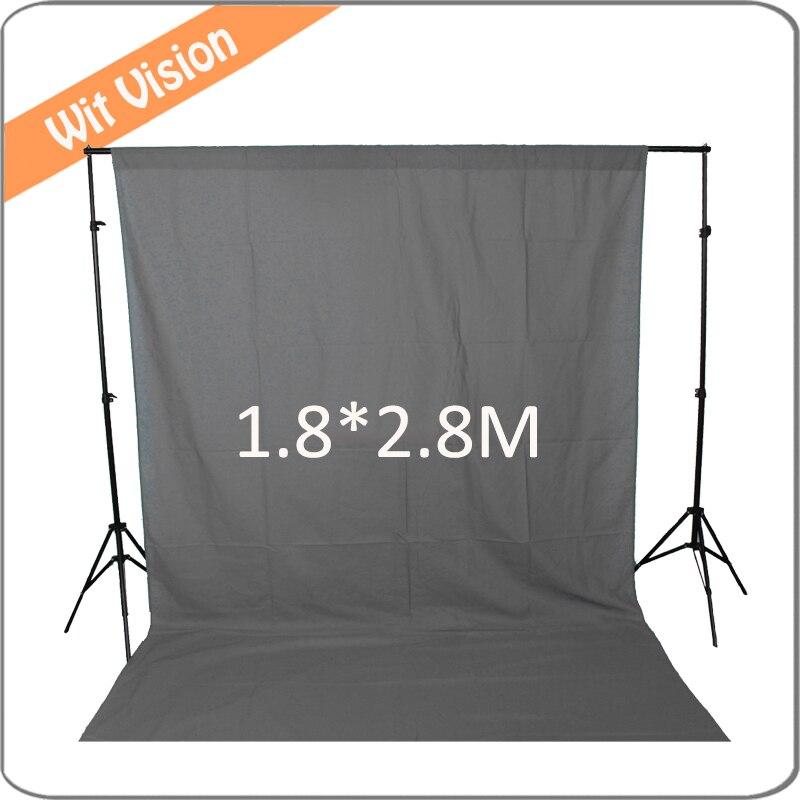 Solid Grey 180*280CM Photography Backdrop Photographic Lighting Studio Muslin Background grey 300 300cm photography backdrop photographic lighting studio muslin background