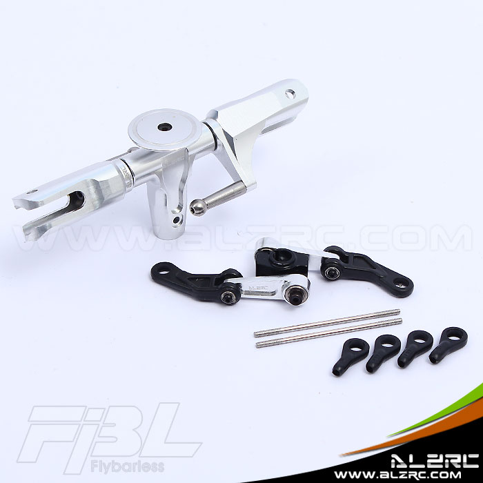 ALZRC - 450 Pro FBL Flybarless wings rotor head group /silver HP45304A