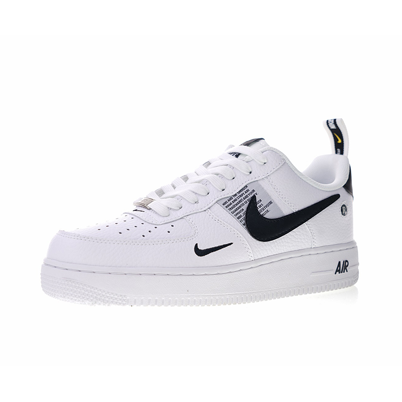 Original Authentic Nike Air Force 1 07 LV8 Utility Men's Skateboarding Shoes Sport Outdoor Sneakers Designer 2018 New AJ7747 100
