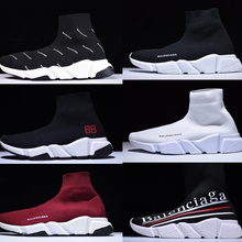 fc026cd783368 Balenciaca Sock Shoes Speed Trainer Running Shoes 2018 Race Runners Shoes  men and women Sports Shoes