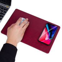 Multifunction QI Wireless Charging Pad Mouse Pad For Iphone X 8 Plus For Samsung S8 Desktop