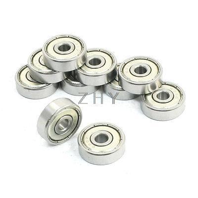 634Z 4x16x5 635Z 5x19x6 636Z 6x22x7 637Z 7x26x9 638Z 8x28x9 639Z 9x30x10 Sealed Miniature Deep Groove Radial Ball Bearings