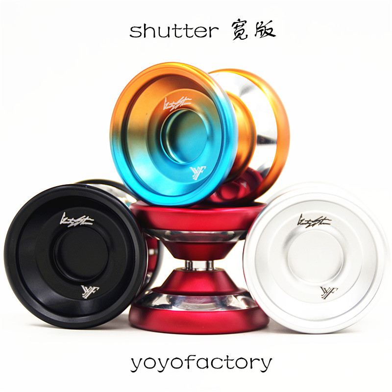 New YYF shutter YOYO Wide version Polished ring alloy YOYO for professional yoyo player