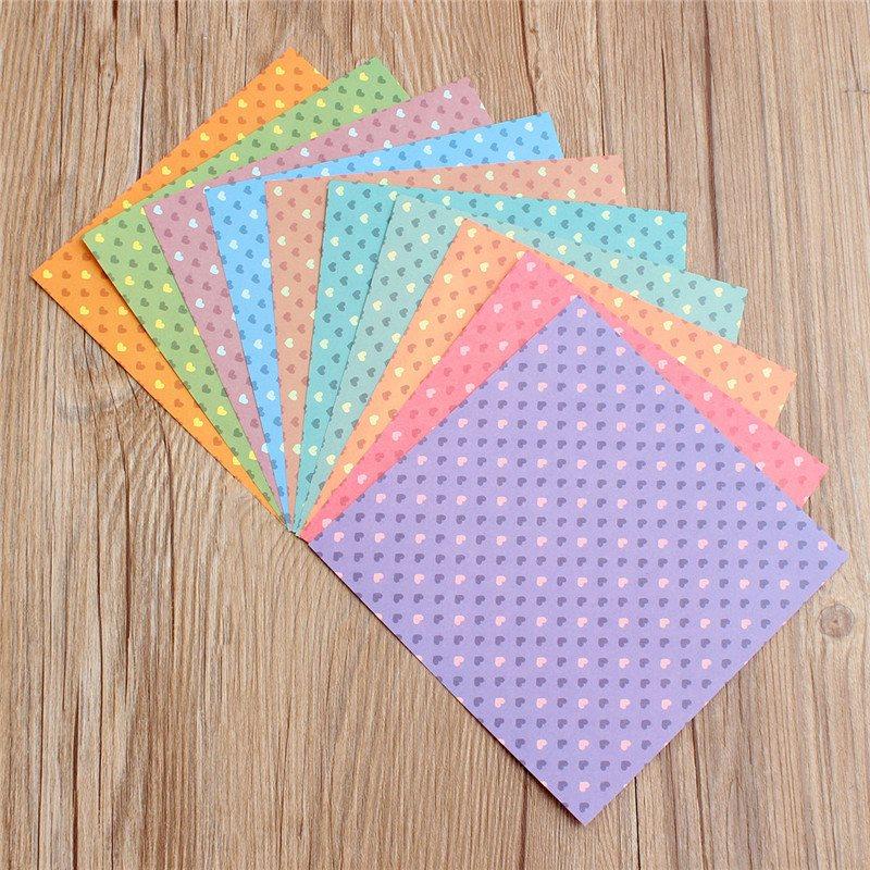 30pcs Lot Home Decor Colorful Diy Paper Craft Scrapbooking Paper