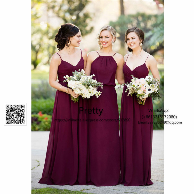 Spring 2017 off shoulder bridesmaid dresses long with ab for Dresses for wedding guests spring 2017