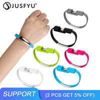 Tragbare Sport Armband usb kabel Für iphone 6s Android handy Kurze usb kabel Schnelle Lade microusb typ c ladekabel