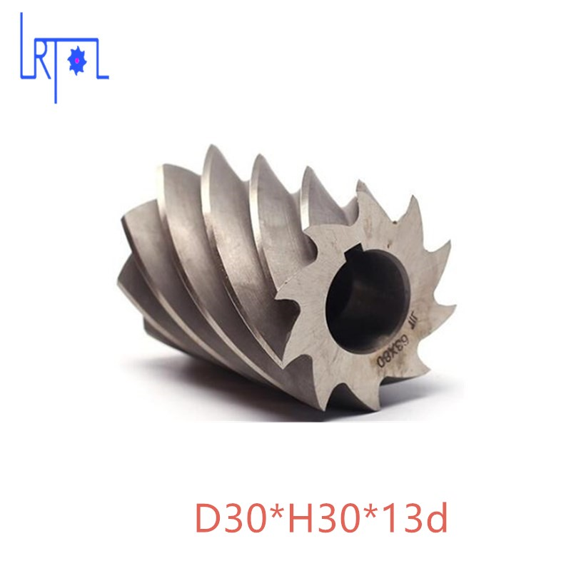 HHS Cylindrical milling cutter D30*H30*d12 high speed steel Milling tool heating element for lx h r sereis h30 r1 h30 r2 h30 r3