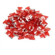 1Pcs 10A Red Mini Blade Fuses Set for Automotive Car 11*9*4mm