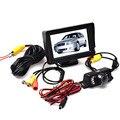 Nueva Llegada Del Coche Sistema de Visión Trasera Cámara del Revés de La Visión Nocturna + 4.3 Pulgadas TFT LCD Monitor