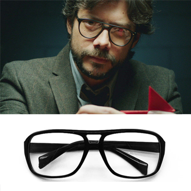 b463523ef La casa De papel Money Heist El profesor (Professeur) Glasses Eyewear Mask  Sunglasses Props