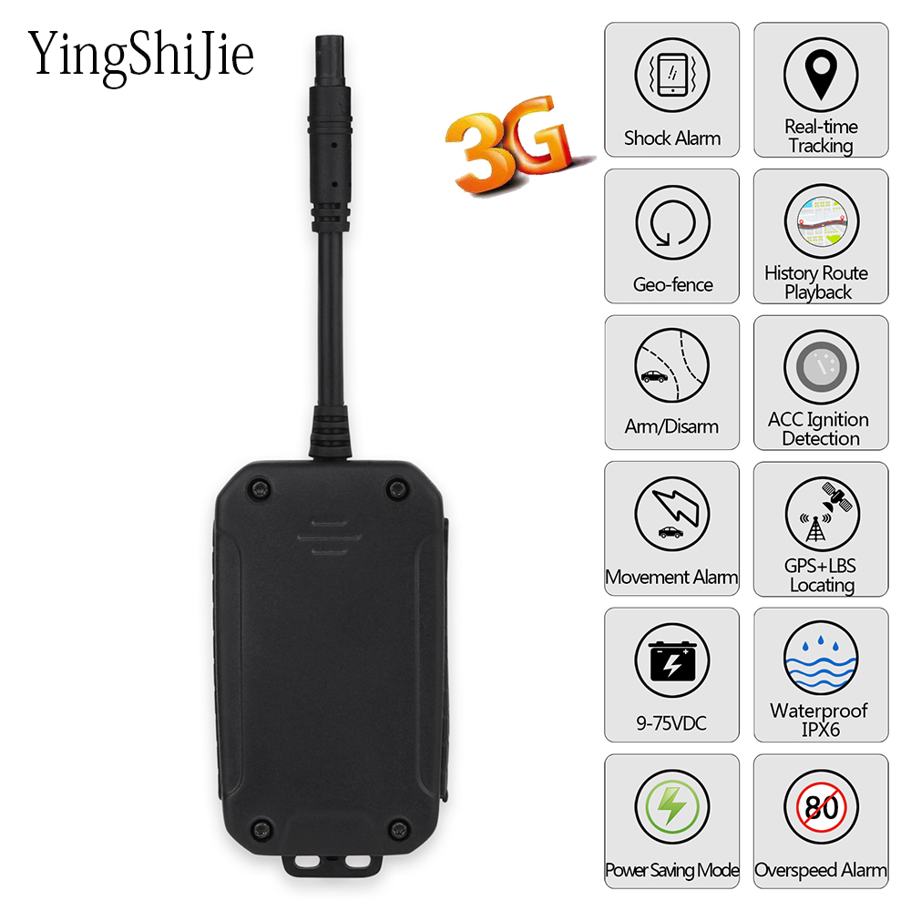 Yingshijie Locator Tracking-Device Gps-Tracker Vehicle Real-Time-Monitoring-System-App