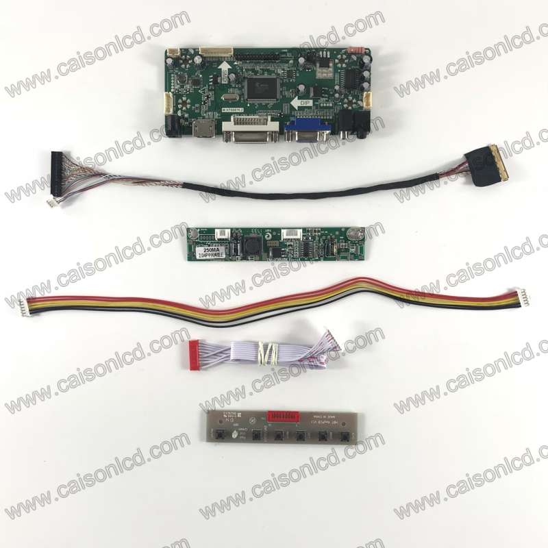NT68676 LCD controller board support HDMI+DVI+VGA+AUDIO  for LCD panel 10.1 inch  1920 x 1200 LCD model easy repair m nt68676 2a vga dvi hdmi led screen controller board for 10 11366x768 n101bge l31 lcd panel repair diy kit plug and play
