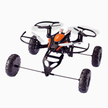 JXD-503 3 IN 1 UFO Universal Model 4CH Aircraft 2.4G RC Quadcopter