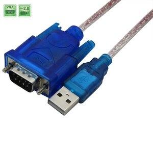 Image 2 - USB Để RS 232 DB9 9 Pin Cáp Nối Tiếp Với Adapter Hỗ Trợ 2M Windows 8 Không CD