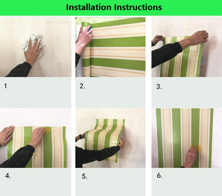 60cmX10m Silk Pattern Self adhesive Wallpaper Waterproof Vinyl PVC Wall Paper Sticker for Kitchen Living Room Bedroom Home Decor