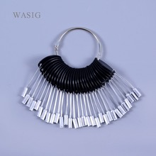30 pcs / set hair color ring for tool , hair color ring Accessories(Silver Color)