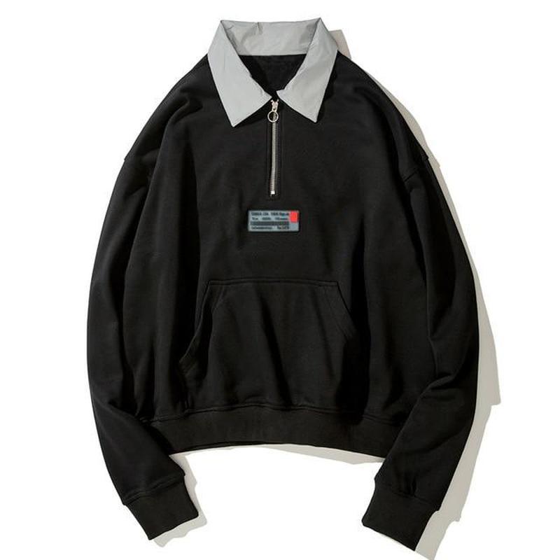 3M Reflective Sweatshirts Hoodies Men Women Long Sleeve Japanese Streetwear Hip Hop Harajuku Shirts Men Casual Tops Sweatshirts