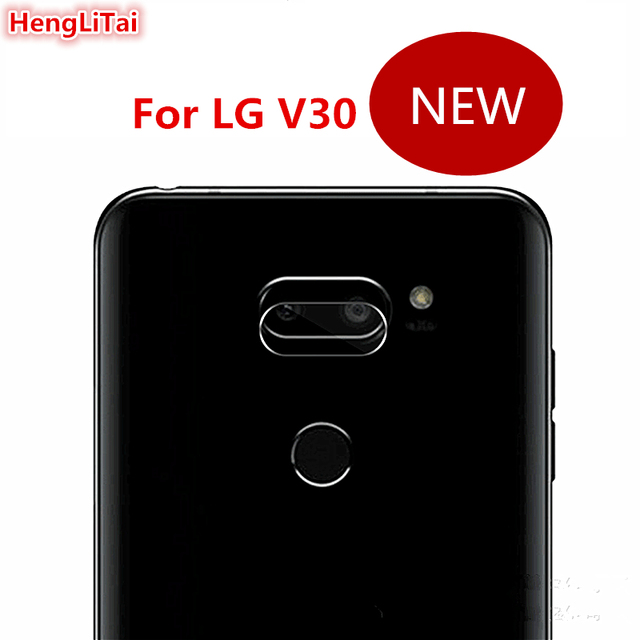 US $1 36 9% OFF|NEW For LG V30 dedicated camera protective film For LG V30  Flexible Camera lens tempered glass film-in Phone Screen Protectors from