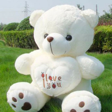 Handmade 70cm Giant Big White Teddy Bear Stuffed Animal