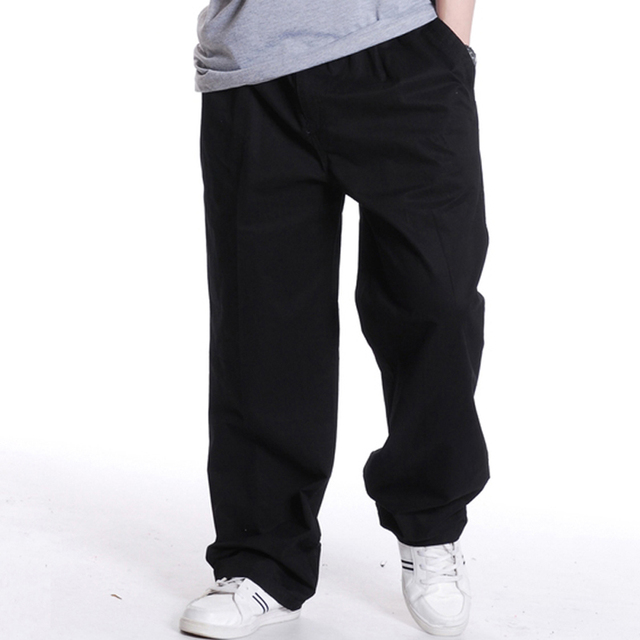 2016 Fashion Mens Joggers Solid Color Casual Baggy male Jogger Pants open air Sweatpants Men Trousers Pantalon Homme 5XL 6XL 226