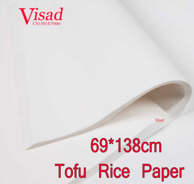 highest quality Chinese Tofu Rice Paper decoupage painting paper drawing Xuan Paper watercolor paper painting supplies free shipping 100 pieces lot 7 colors hand made chinese rice paper for painting and decoupage 64 135cm xuan paper