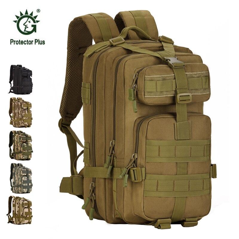 Hommes femmes en plein air sac à dos militaire armée tactique sac à dos Trekking Sport voyage sac à dos Camping randonnée sac à dos Camouflage