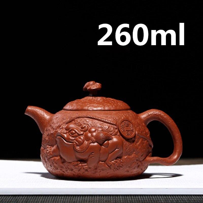 Théière Yixing Zisha argile porcelaine chinoise théières théière en céramique 120 ml nouveau arrivé de haute qualité avec boîte-cadeau