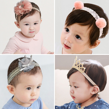 New 3PCS/Lot Fashion Baby Girls  Headbands Cute Children Hair Bands Headwear Bandanas Kids crown For BABY GIRL Gift