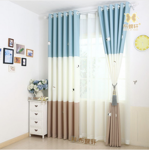 baby kids room curtains korean stlye cartoon curtain for