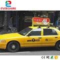 Лидер продаж! наружная двухбоковая светодиодная вывеска P5  полноцветная  3G  GPS  такси