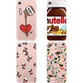 Phone case Cute Tumblr Nutella Design Sushi clear soft silicon TPU case cover for Apple iPhone 7 7plus 5S SE 6S 6plus