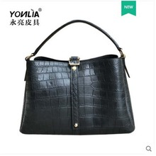 yongliang Leather new alligator belly  Ladieshandbags, leisure handbags, ladies leather women handbags