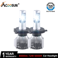 Car LED Headlight Bulbs H4 H7 LED Car Lights H11 9004 9005 9006 9007 5205 9012
