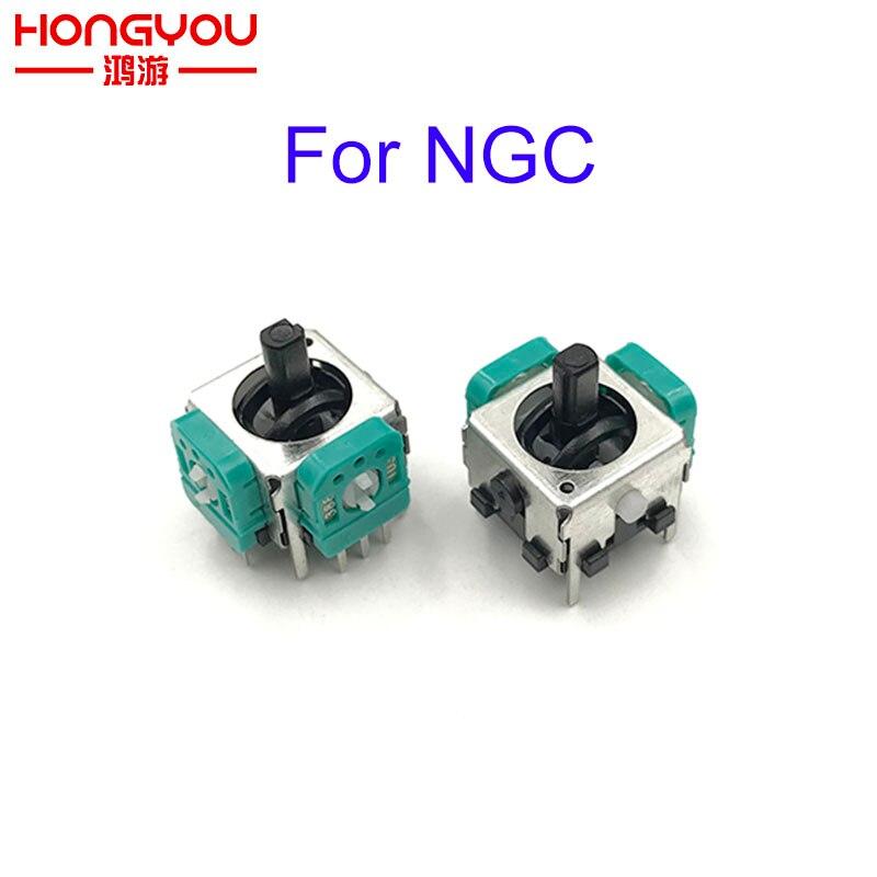 100Pcs Replacement 3d Analog Joystick Thumb Stick for Nintendo NGC for gamecube Controller Repair Parts