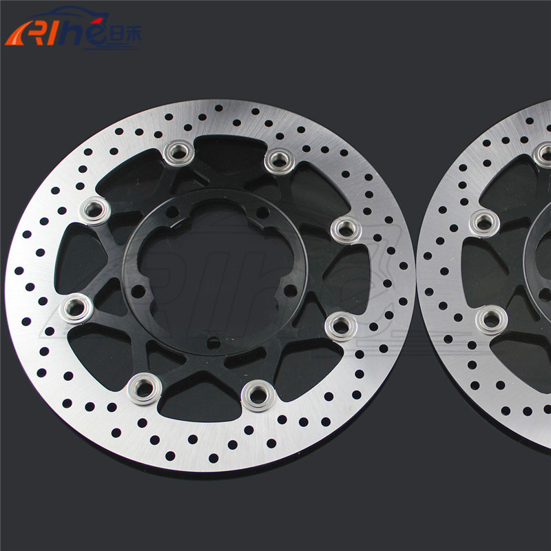 hot selling motorcycle accessories Aluminum alloy&Stainless steel front brake disc rotos For Suzuki GSXR1000 2005 2006 2007 2008 motorcycle front brake disc rotors brake rotos for suzuki gsf1200 2006 motorbike accessories front brake