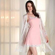 2019 Pajamas negligee Nightgown