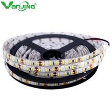 LED Strip Waterproof 4014 SMD LED Ribbon 5M 600LEDS DC 12V LED Tape Light Cool White Warm White Super Bright than 3014
