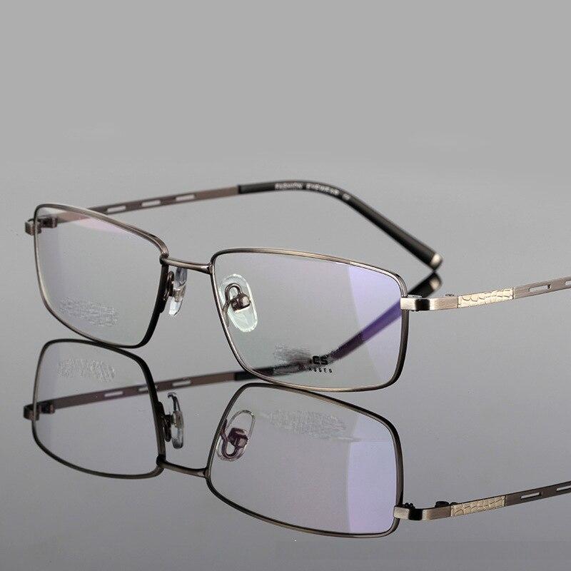Ultra-light Titanium Spectacle Frame Reading Glasses Men Business Eyewear High Quality Comfortable Reading Eyeglasses 1.0 2.5