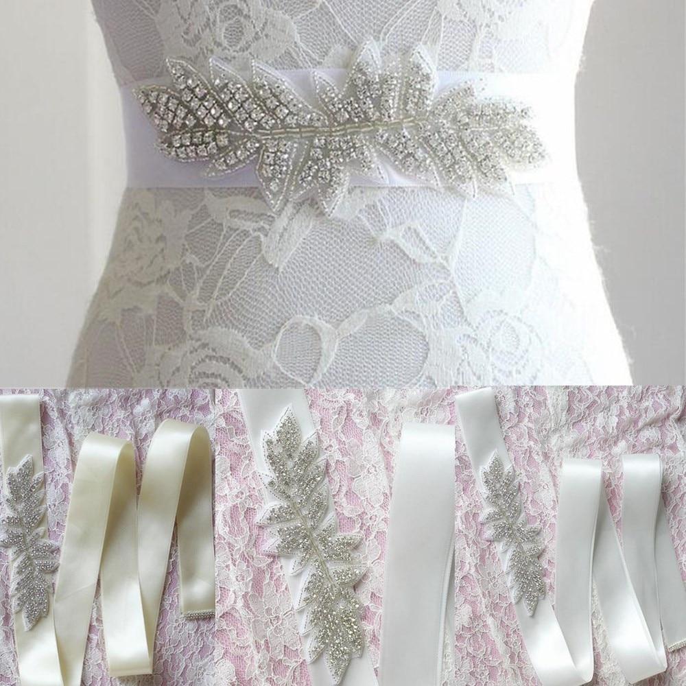 260cm Crystal Rhinestone Flower Luxurious Belt for Bride Evening ...