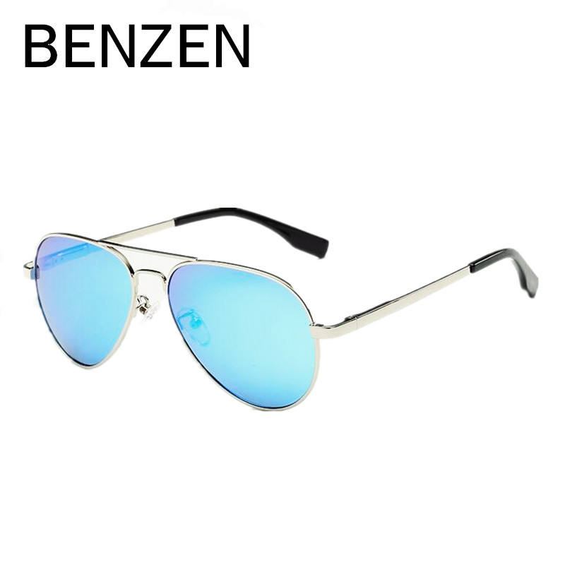 BENZEN Polarized Kids Sunglasses Vintage 4-12 Old UV Children Glasses Boy Sun Glasses Girl Shades Accessories With Case 1010