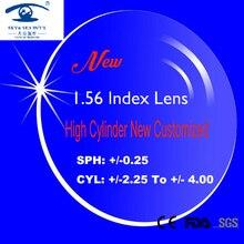 Nieuwe 1.56 Index Recept Lens voor Frame Glazen Mannen Vrouwen lentes opticos Spektakel Lenzen Hoge Cilinder van 2.25 4.00