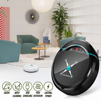 Home Smart Ultra Thin USB Charging Sweeping Vacuum Cleaner Robot Automatic Mopping Cleaning Machine Long Life Saving AC100V 240V