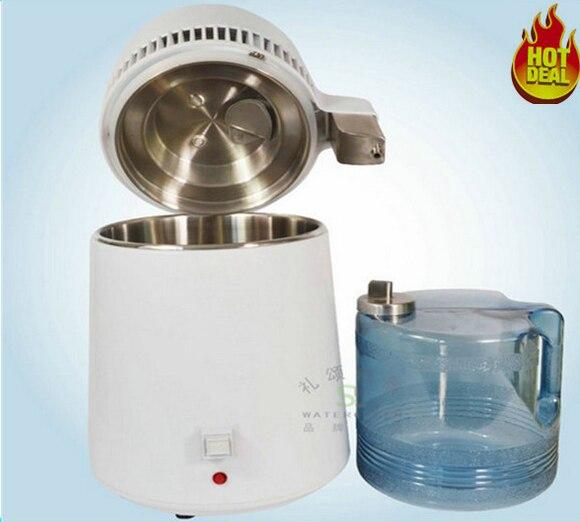 1pc Seal Ring + Stainless Steel Water Distiller Machine Water Purifier 4L/ household water distiller beer moonshine distiller