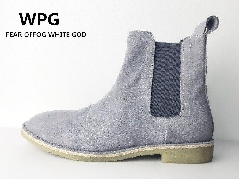 2018 Neue Stil Top Qualität Farbe Euro 37-46 Slp Designer Männer Schuhe Luxus Marke Chelsea Herren Stiefel Schuhe Tropf-Trocken