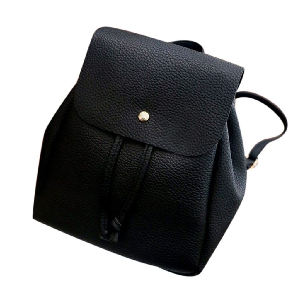 New Arrival Backpack Women Drawstring Backpacks Girls Pu Leather Simple Female Shoulder School Bags mochila masculina #6541601 new arrival women pu leather backpacks female school bags for teenagers simple couple shoulder bag string bag mochila feminina